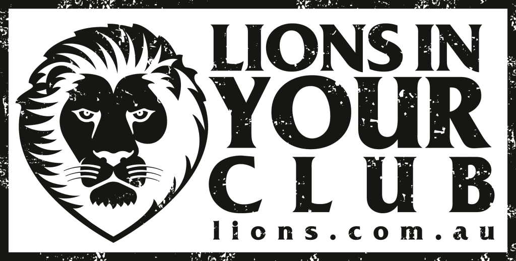 Lions In Your Club Black