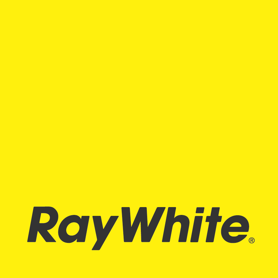 Ray White Primary Logo (yellow) Cmyk