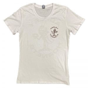 Womens White Front Heritage Shirt