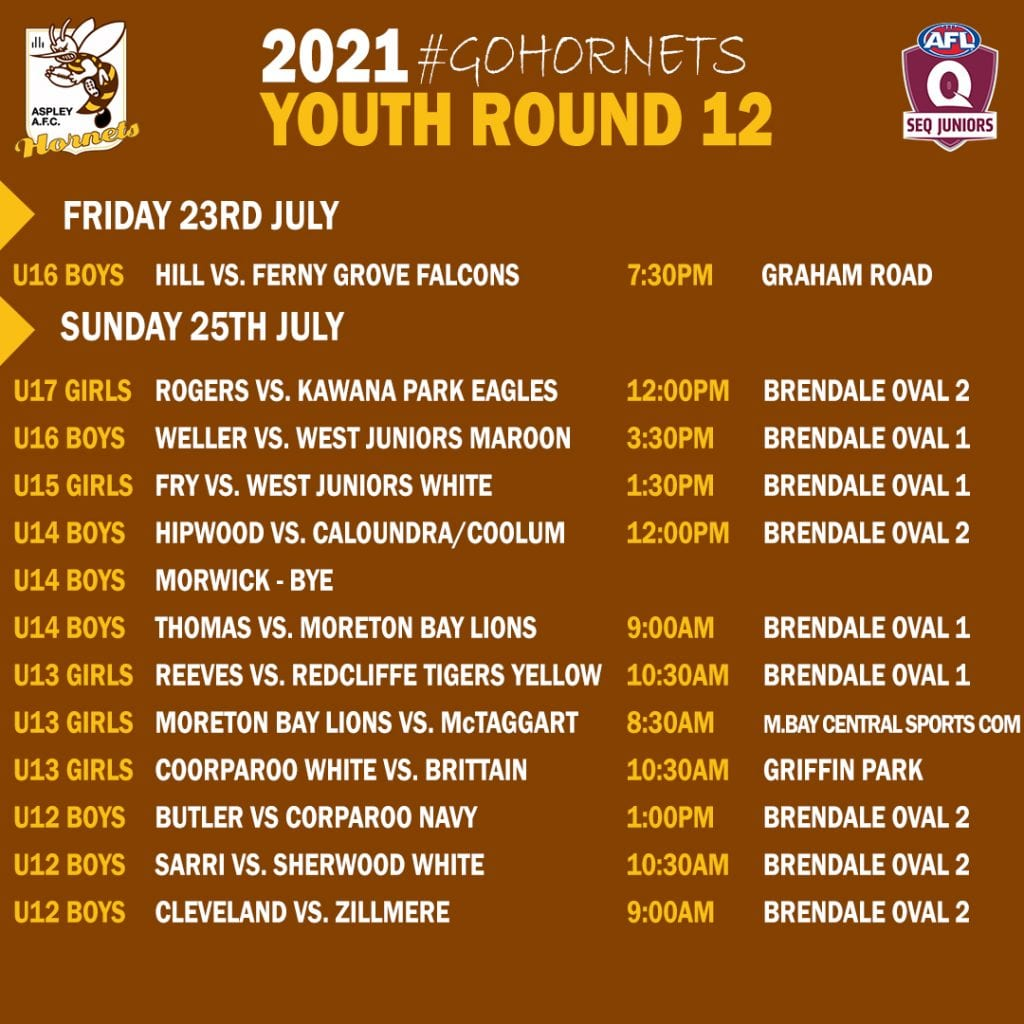 Youth Fixtures