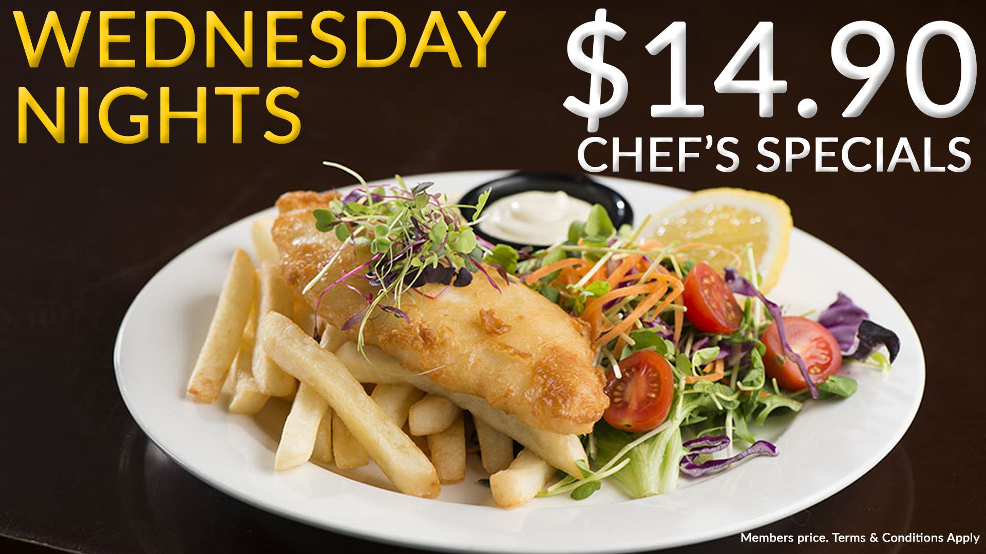 Wednesday night food deals sydney