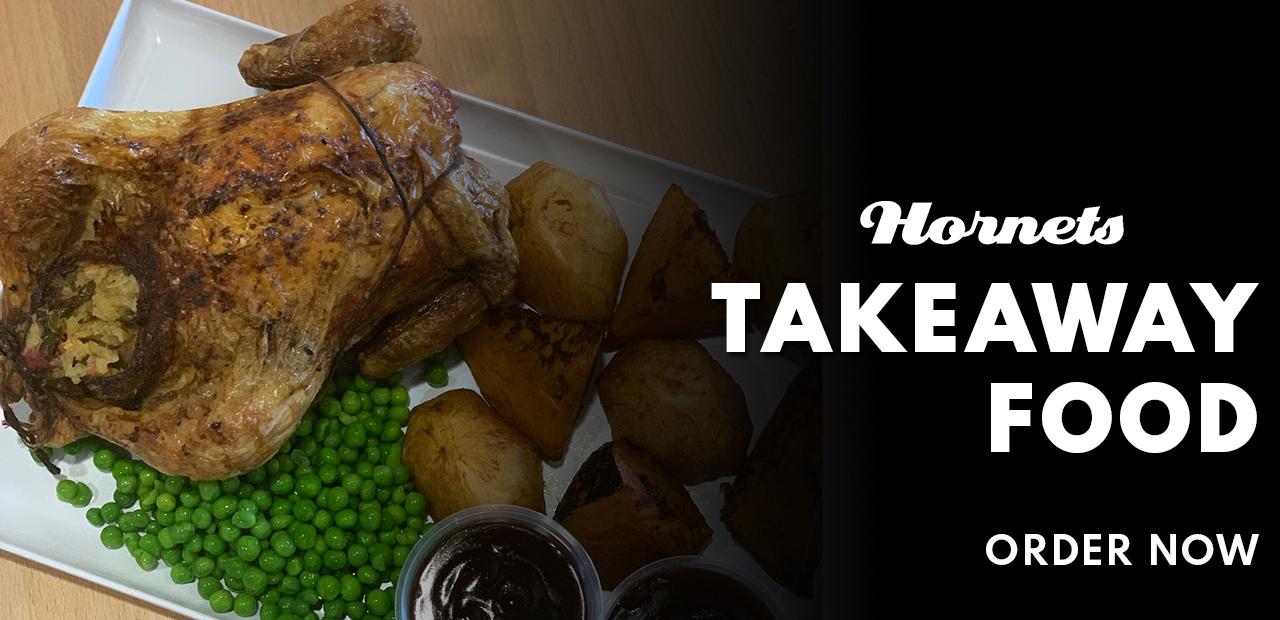 Take Away food order now - Website