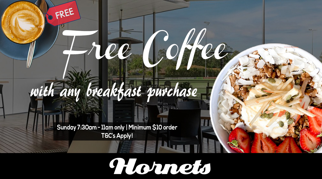 Free Coffee with Breakfast Deal Updated