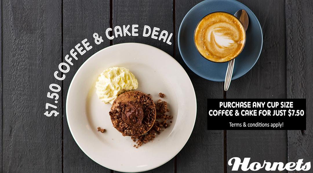 Coffee & Cake Deal
